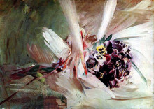 "Картина ""The Pansies"" художника ""Болдини Джованни"""