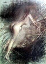 "Копия картины ""Young Lady Entering Bath"" художника ""Болдини Джованни"""