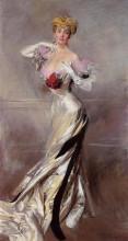 "Репродукция картины ""Portrait of the Countess Zichy"" художника ""Болдини Джованни"""