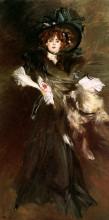 "Репродукция картины ""Mademoiselle Lanthelme"" художника ""Болдини Джованни"""