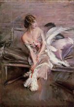 "Картина ""Portrait of Gladys Deacon"" художника ""Болдини Джованни"""