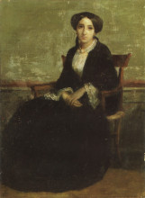 "Картина ""Portrait of Genevieve Celine"" художника ""Бугро Вильям Адольф"""