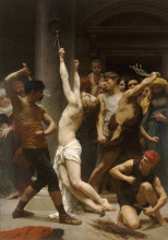 "Репродукция картины ""Flagellation of Our Lord Jesus Christ"" художника ""Бугро Вильям Адольф"""