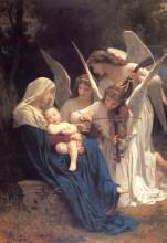 """Репродукция картины """"song of the angels"""" художника """"бугро вильям адольф"""""""