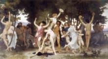 """Картина """"The Youth of Bacchus"""" художника """"Бугро Вильям Адольф"""""""