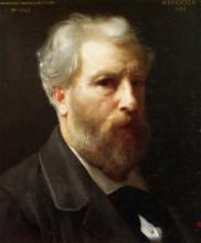 """Репродукция картины """"Self-Portrait Presented To M. Sage"""" художника """"Бугро Вильям Адольф"""""""