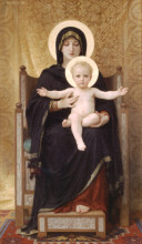 """Репродукция картины """"Virgin and Child"""" художника """"Бугро Вильям Адольф"""""""