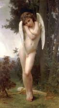 "Картина ""Cupidon"" художника ""Бугро Вильям Адольф"""