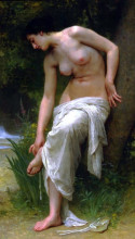 "Картина ""After the Bath"" художника ""Бугро Вильям Адольф"""