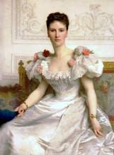 """Картина """"Madame la Comtesse de Cambaceres"""" художника """"Бугро Вильям Адольф"""""""