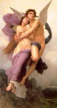 """Копия картины """"The Abduction of Psyche"""" художника """"Бугро Вильям Адольф"""""""