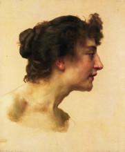 """Копия картины """"Study of the Head of Elize"""" художника """"Бугро Вильям Адольф"""""""