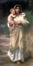 """Картина """"Lambs"""" художника """"Бугро Вильям Адольф"""""""
