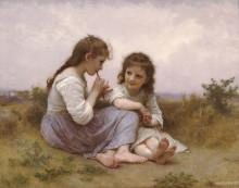"Копия картины ""A Childhood Idyll"" художника ""Бугро Вильям Адольф"""