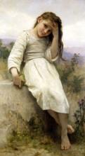 """Репродукция картины """"The Little Marauder"""" художника """"Бугро Вильям Адольф"""""""