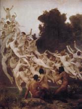 "Картина ""The Oreads"" художника ""Бугро Вильям Адольф"""