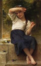 "Картина ""Marguerite"" художника ""Бугро Вильям Адольф"""