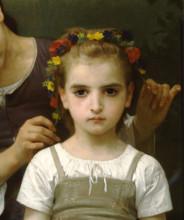"""Картина """"Adornmentfields"""" художника """"Бугро Вильям Адольф"""""""
