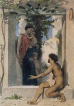 "Копия картины ""Roman Charity"" художника ""Бугро Вильям Адольф"""
