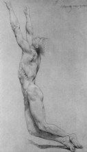 "Картина ""Study for The Flagellation of Christ"" художника ""Бугро Вильям Адольф"""