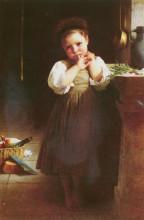 """Репродукция картины """"Littlesulky"""" художника """"Бугро Вильям Адольф"""""""