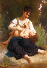 "Картина ""Adolphus Child And Teen"" художника ""Бугро Вильям Адольф"""