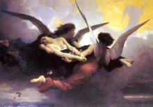 "Репродукция картины ""Soul Carried to Heaven"" художника ""Бугро Вильям Адольф"""