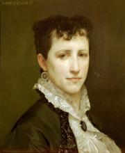 """Репродукция картины """"Portrait of Miss Elizabeth Gardner"""" художника """"Бугро Вильям Адольф"""""""