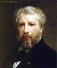 """Копия картины """"Portrait of the Artist"""" художника """"Бугро Вильям Адольф"""""""