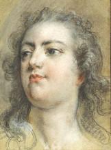 "Копия картины ""Голова короля Людовика XV"" художника ""Буше Франсуа"""