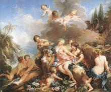 """Картина """"Похищение Европы"""" художника """"Буше Франсуа"""""""