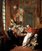 "Картина ""Завтрак"" художника ""Буше Франсуа"""