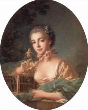 """Картина """"Портрет дочери художника"""" художника """"Буше Франсуа"""""""