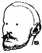 "Картина ""Portrait of French writer Jules Renard"" художника ""Валлотон Феликс"""
