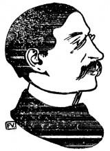 """Копия картины """"Portrait of French politician Léon Blum"""" художника """"Валлотон Феликс"""""""