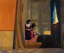 """Копия картины """"Woman Reading to a Little Girl"""" художника """"Валлотон Феликс"""""""