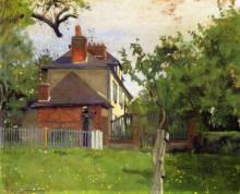 "Картина ""Villa Beaulieu, Honfleur"" художника ""Валлотон Феликс"""