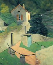 """Репродукция картины """"A Vallon Landscape"""" художника """"Валлотон Феликс"""""""