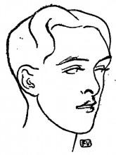 "Картина ""British poet Alfred Douglas"" художника ""Валлотон Феликс"""