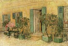 """Картина """"Exterior of a Restaurant at Asnieres"""" художника """"Ван Гог Винсент"""""""