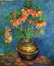 "Картина ""fritillaries in a copper vase"" художника ""ван гог винсент"""