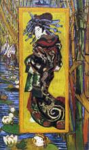 "Копия картины ""japonaiserie oiran (after kesai eisen)"" художника ""ван гог винсент"""