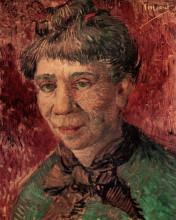 "Картина ""portrait of a woman (madame tanguy)"" художника ""ван гог винсент"""