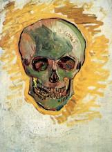 """Репродукция картины """"skull"""" художника """"ван гог винсент"""""""