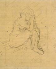 "Картина ""sorrowing woman"" художника ""ван гог винсент"""