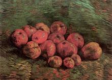 """Репродукция картины """"still life with apples"""" художника """"ван гог винсент"""""""