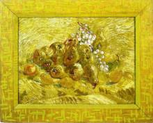 "Репродукция картины ""Still life with grapes,pears and lemons"" художника ""Ван Гог Винсент"""