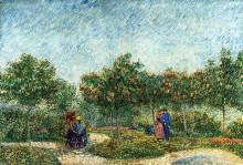 "Копия картины ""the voyer d'argenson park in asnieres"" художника ""ван гог винсент"""