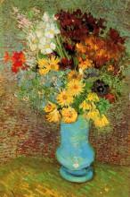 """Картина """"Vase with Daisies and Anemones"""" художника """"Ван Гог Винсент"""""""