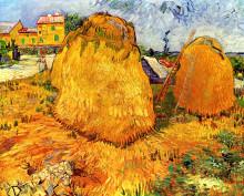 "Картина ""Haystacks in Provence"" художника ""Ван Гог Винсент"""